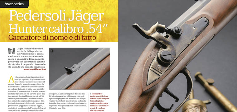 Matteo Brogi: Let's shoot BLACK POWDER
