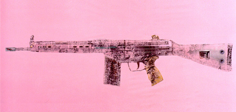 Matteo Brogi: Ladies Weapons by Antonio Riello. When guns become a piece of art