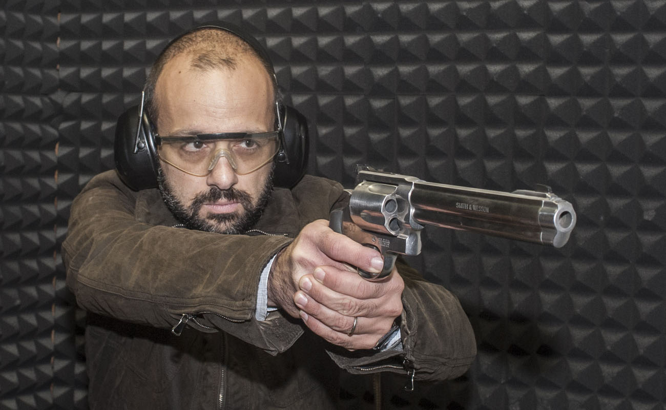 Matteo Brogi: Smith & Wesson mod. 500... The test at the range