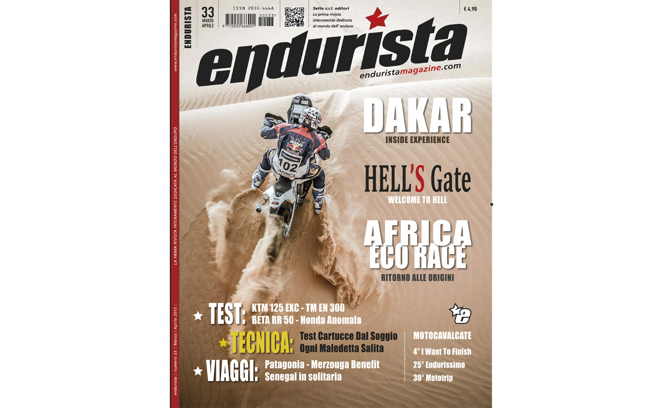 Matteo Brogi: Managing director of the monthly magazine ENDURISTA. Since 2015, March
