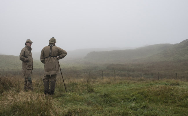 Matteo Brogi: In Glenborrodale, Scotland, to cover a photo story on red deer stalk hunting