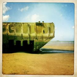 Gold beach, Arromanches (low tide) © Matteo Brogi